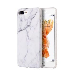 Accessories - Apple IPhone 7 Plus Marble Soft TPU Case